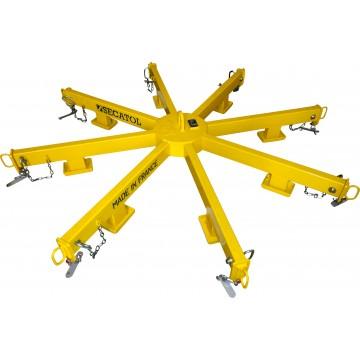 Palonnier spécial en étoile 8 bras
