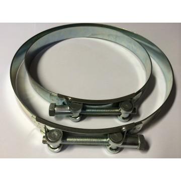 Collier de serrage pour tuyau de benne à béton